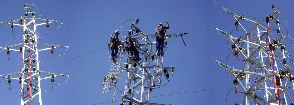 Redes de distribución de alta, media y baja tensión - Villa Flores Martín