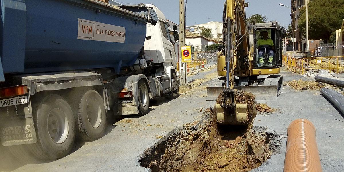 Villa Flores Martín se adjudica dos proyectos de canalización hidráulica - Villa Flores Martín