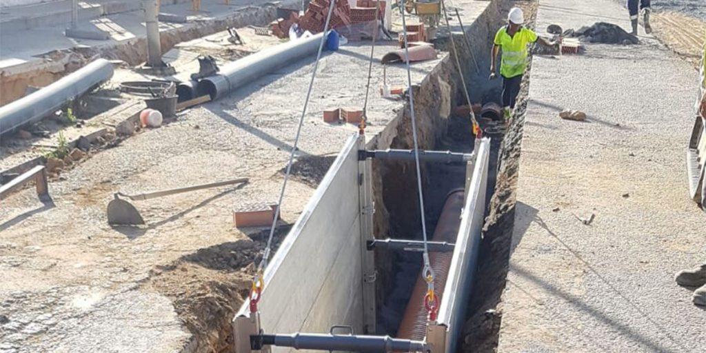 servicio de obras para canalizaciones hidraulicas