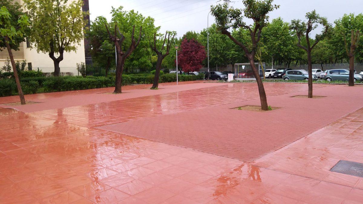 Sistema de drenaje urbano sostenible en Sevilla para EMASESA - Villa Flores Martín